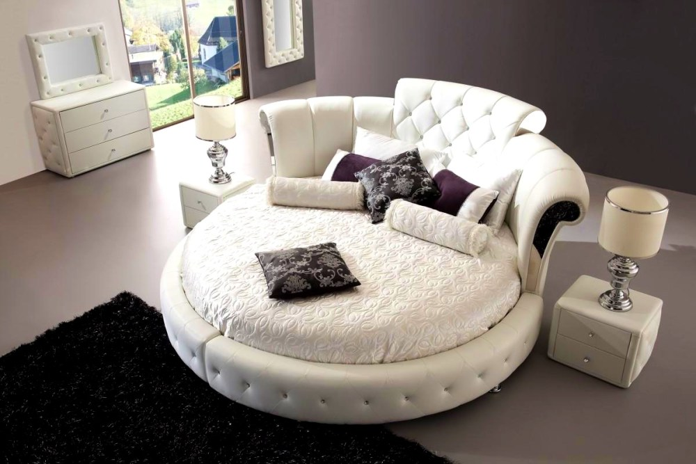 Round Bed Frame Plans