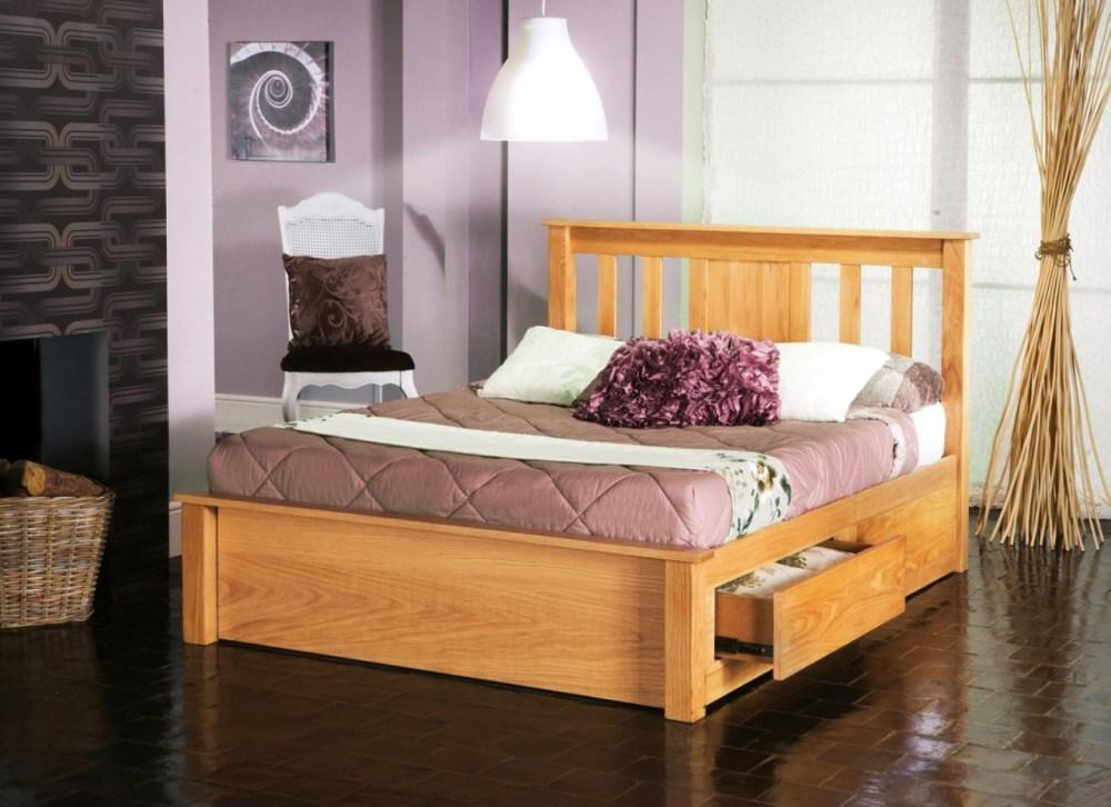 Royal Ascot Oak Bed Frame