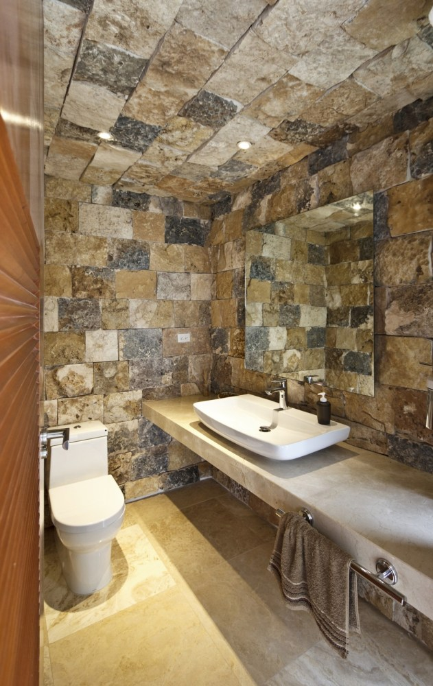 Rustic Bathroom Ideas Log Cabins