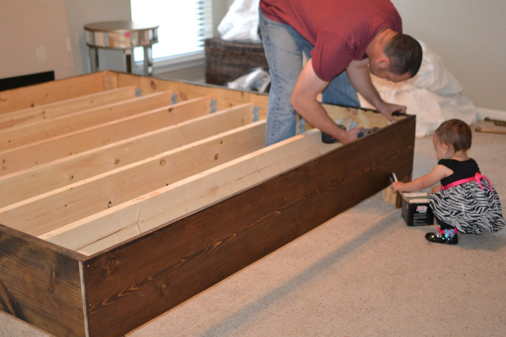 Rustic Bed Frame Diy