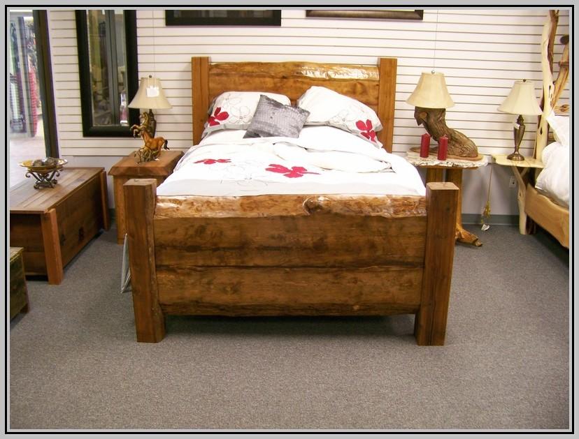 Rustic Bed Frames Queen