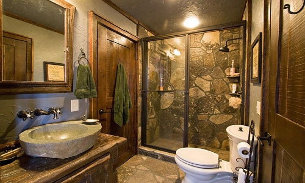 Rustic Cabin Bathroom Ideas