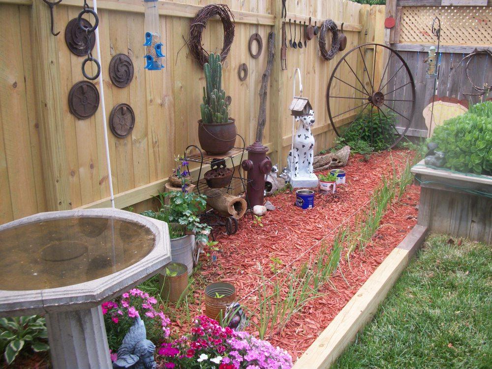 Rustic Gardening Ideas