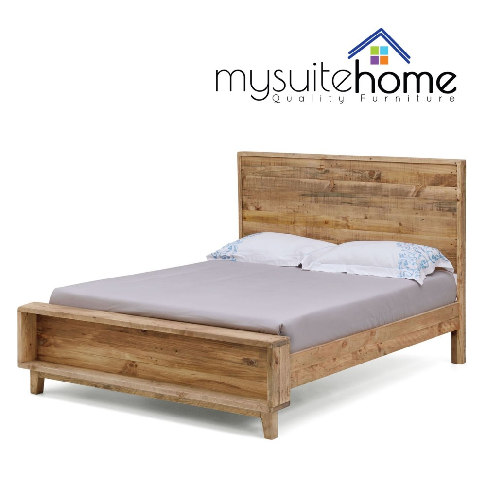 Rustic King Size Bed Frame