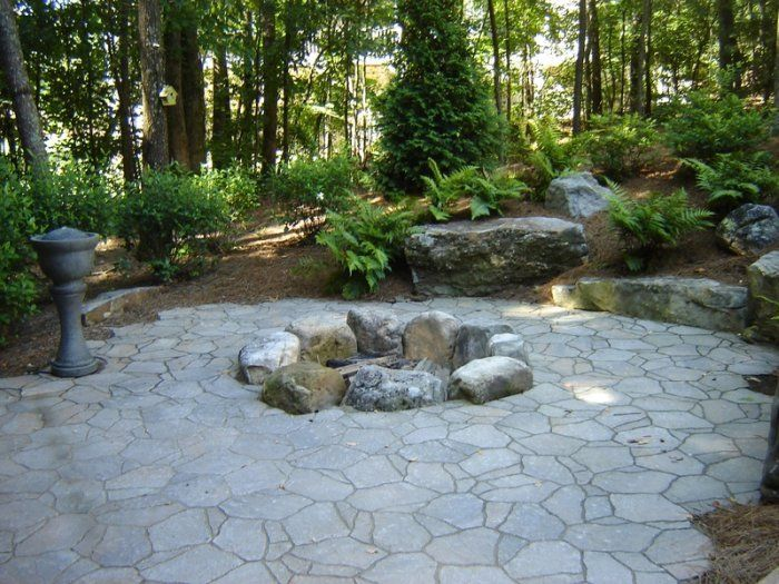 Rustic Landscaping Ideas Pinterest
