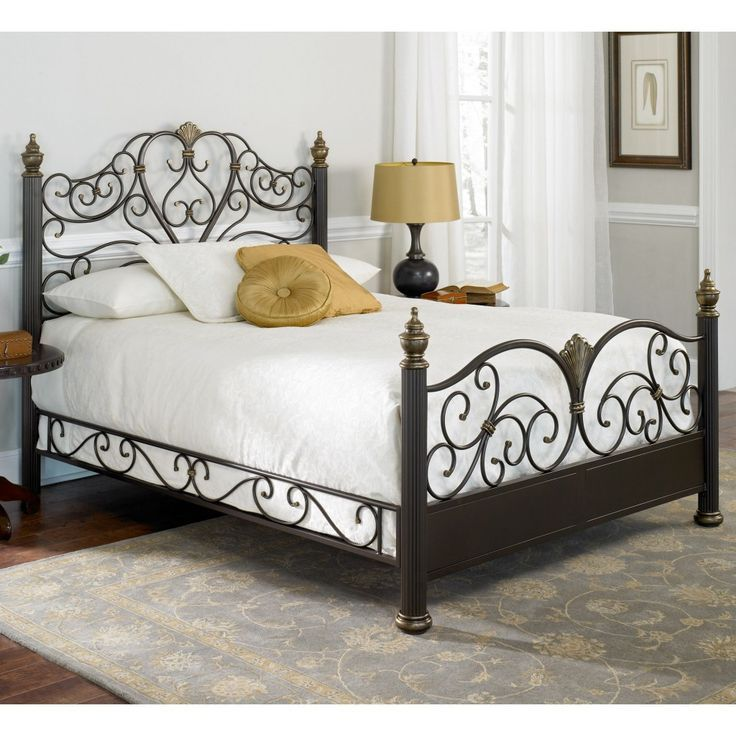 Rustic Wrought Iron Bed Frames