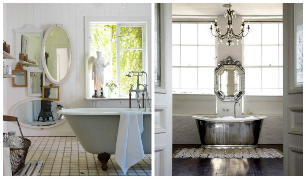 Shabby Chic Bathroom Designs