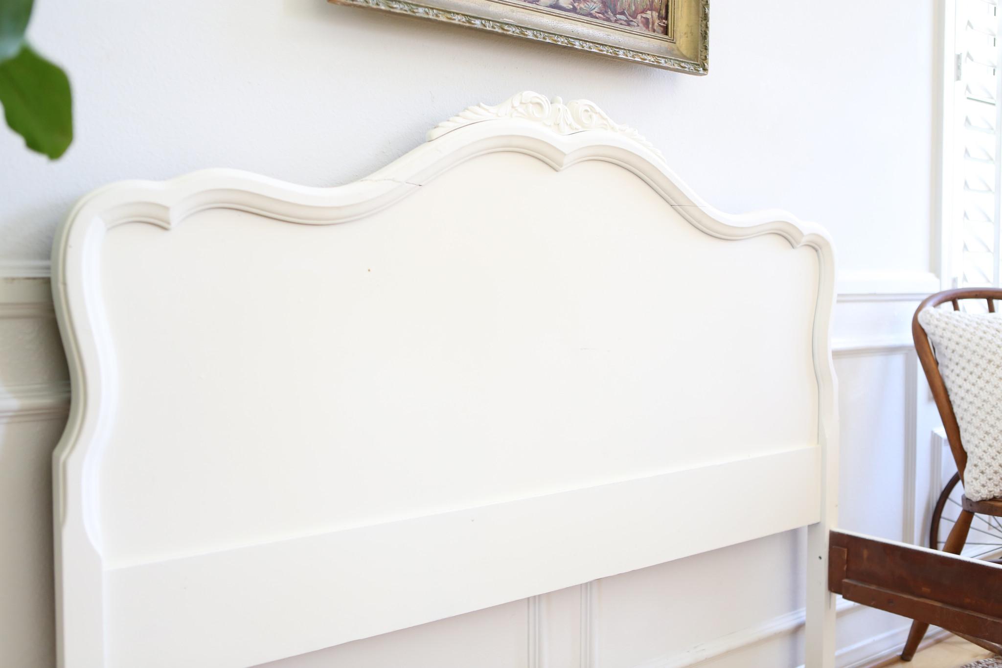 Shabby Chic Bed Frame Full