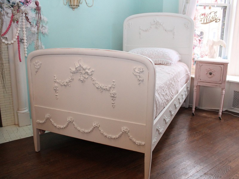 Shabby Chic Bed Frame Twin