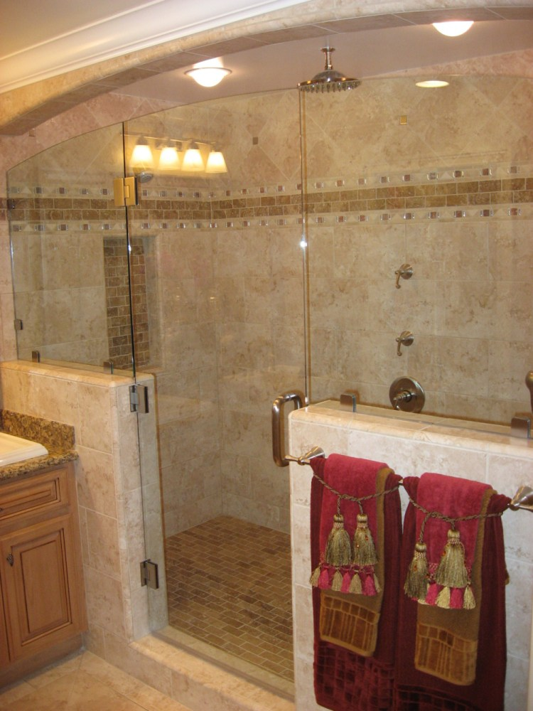 Shower Ideas For Large Bathrooms