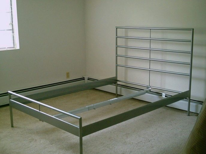 Silver Bed Frame Ikea