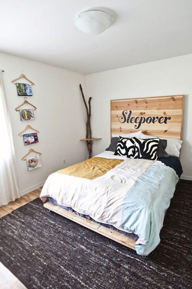 Simple Bed Frame Diy