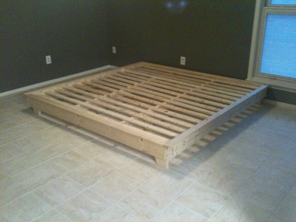 Simple Bed Frames Diy