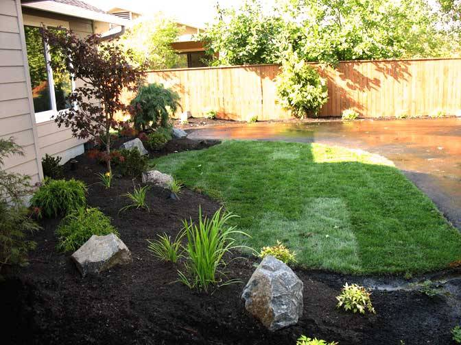 Simple Front Yard Landscape Pictures