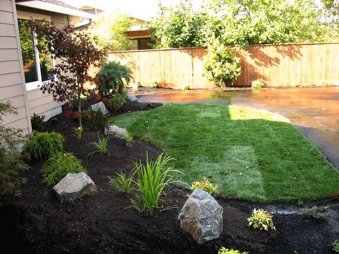 Simple Front Yard Landscape Pictures
