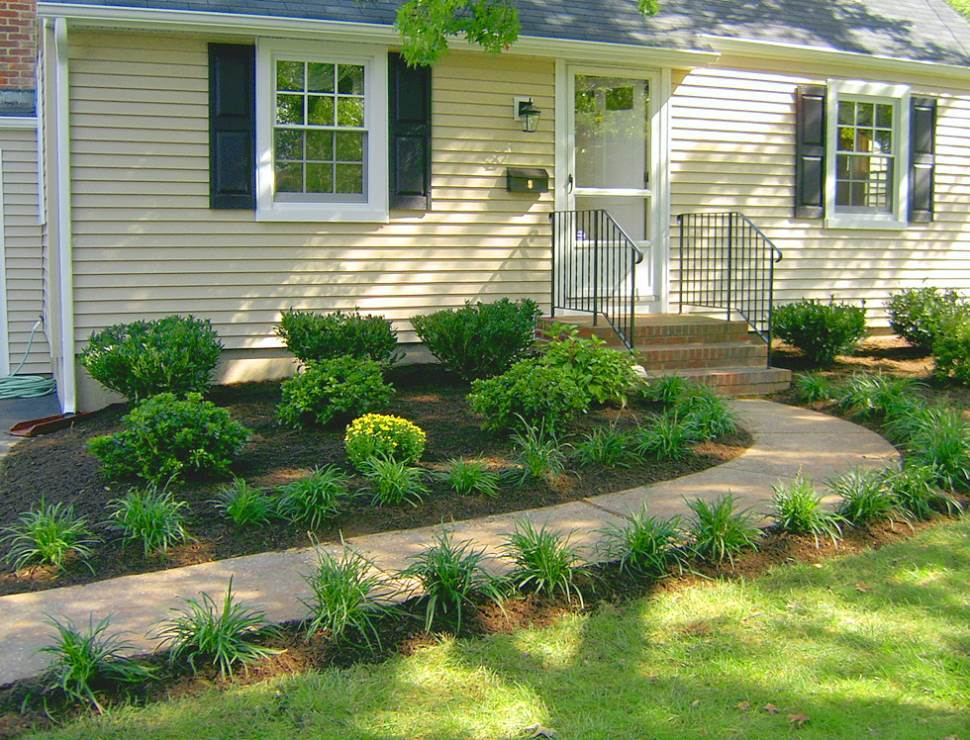Simple Landscape Designs For Small Front Yards