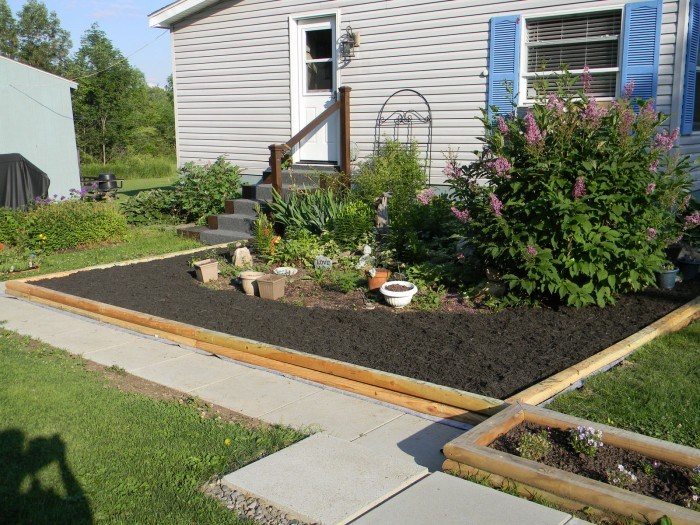 Simple Landscaping Ideas For Mobile Homes