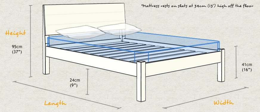 Single Bed Frame Dimensions
