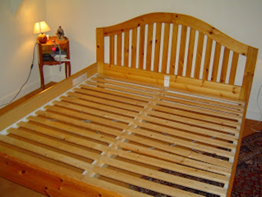 Slat Bed Frame Plans