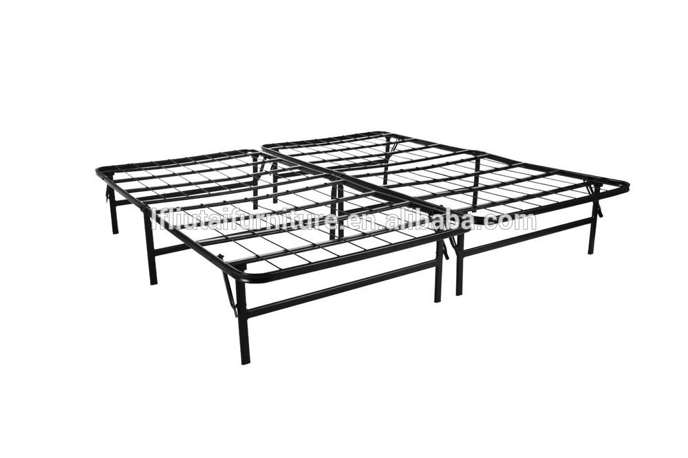 Sleep Master Easy To Assemble Smart Platform Metal Bed Frame Twin