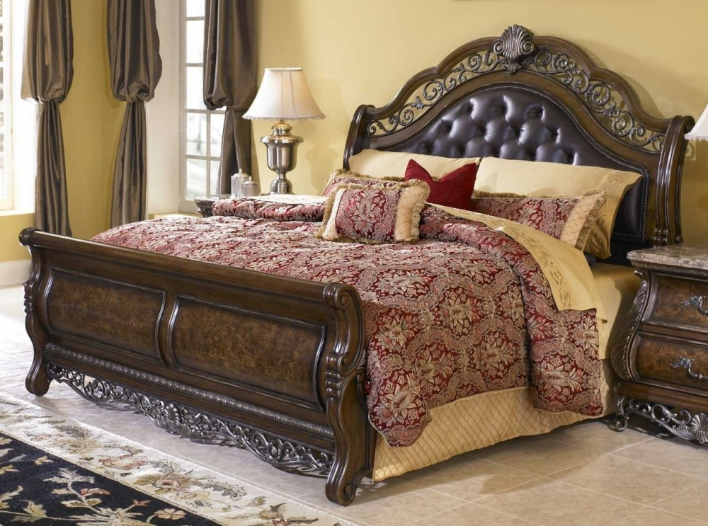 Sleigh Bed Frame California King
