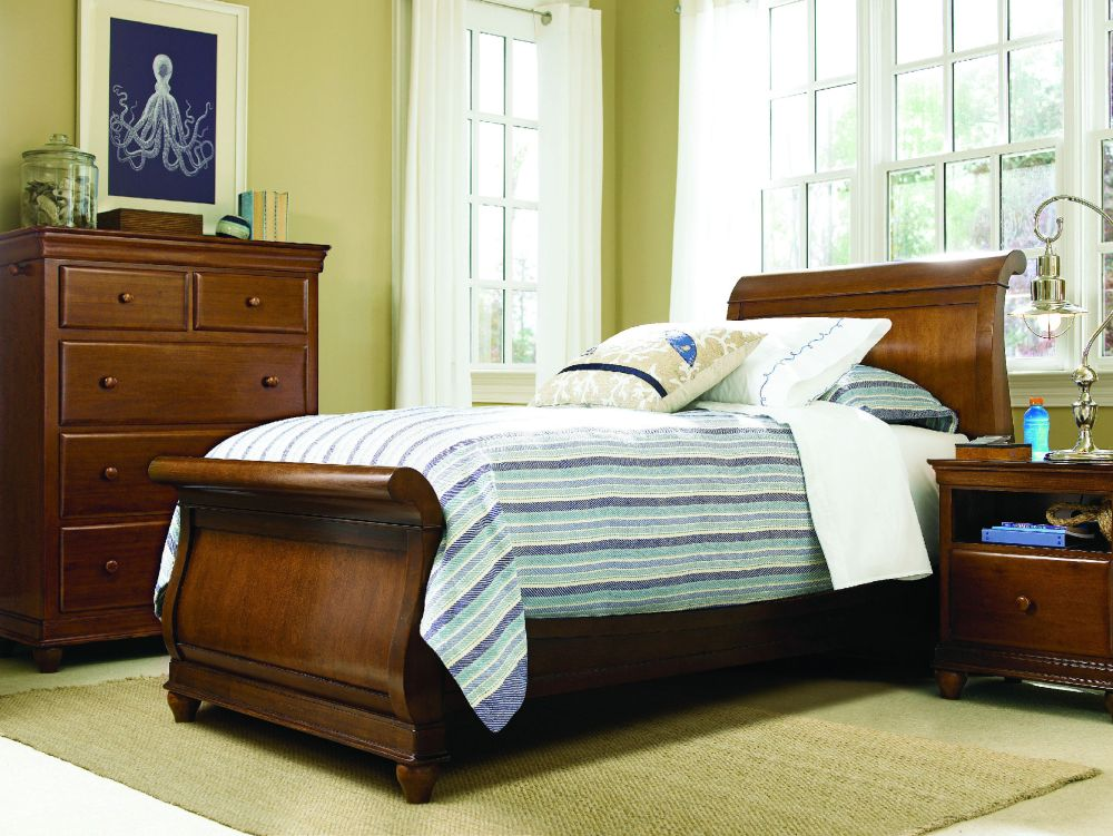 Sleigh Bed Frame Twin
