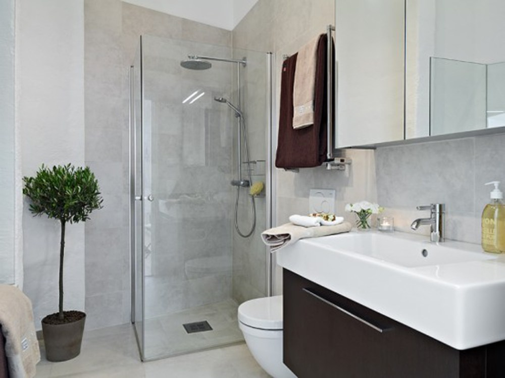Small Apartment Bathroom Designs