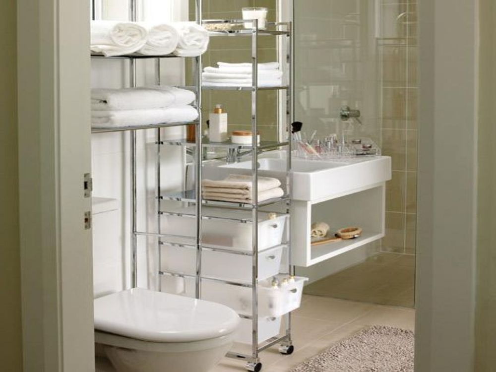 Small Apartment Bathroom Storage Ideas