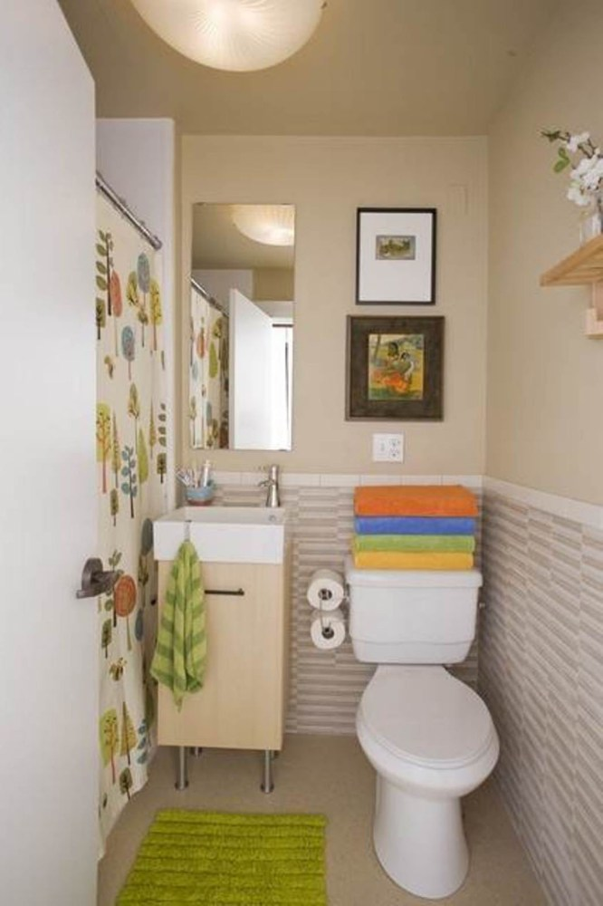 Small Bathroom Color Ideas On A Budget