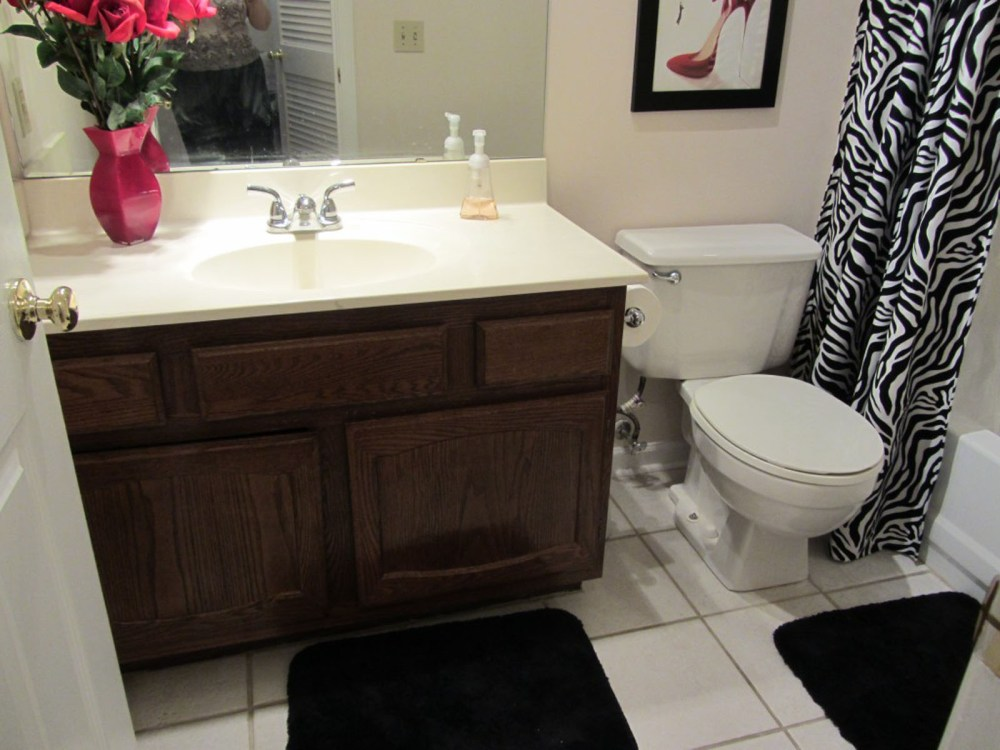 Small Bathroom Ideas On A Budget Pinterest