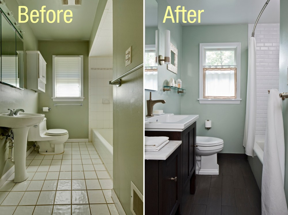 Small Bathroom Makeover Ideas Pictures