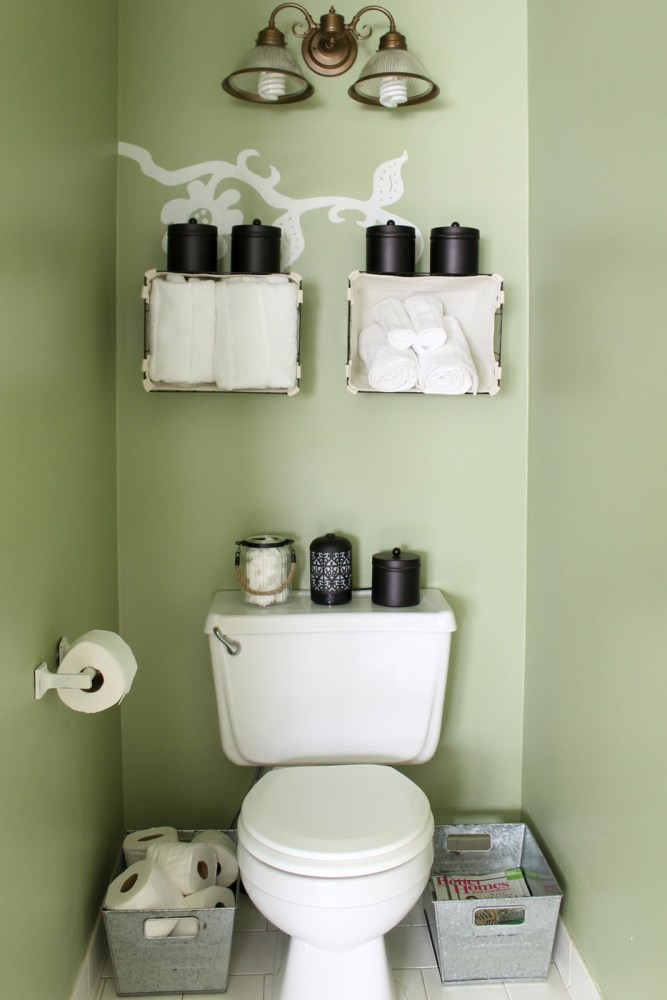 Small Bathroom Organization Ideas
