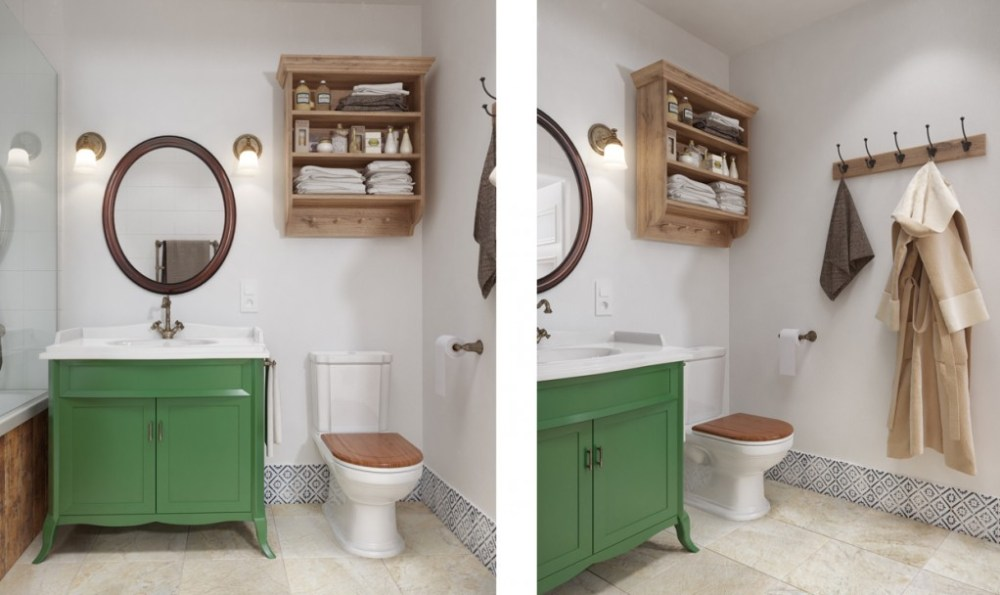 Small Bathroom Renos On A Budget