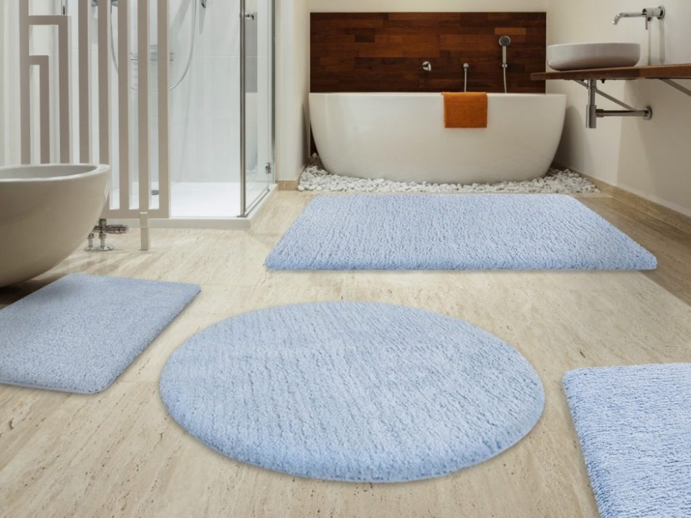 Small Bathroom Rug Ideas