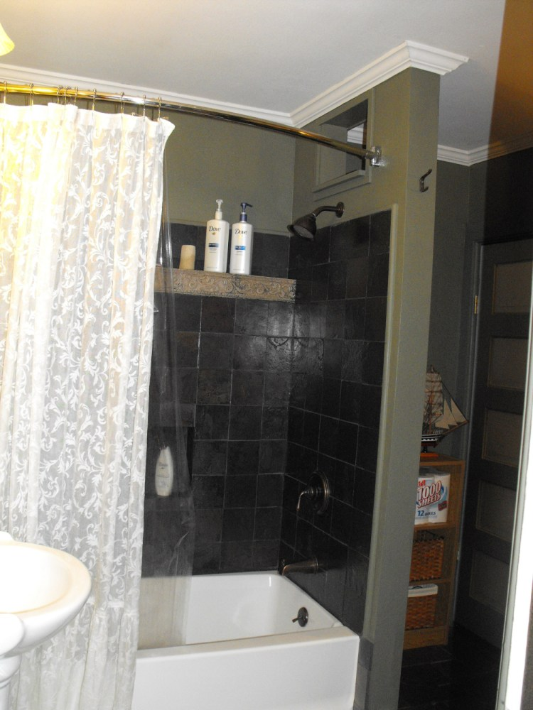 Small Bathroom Shower Curtain Ideas