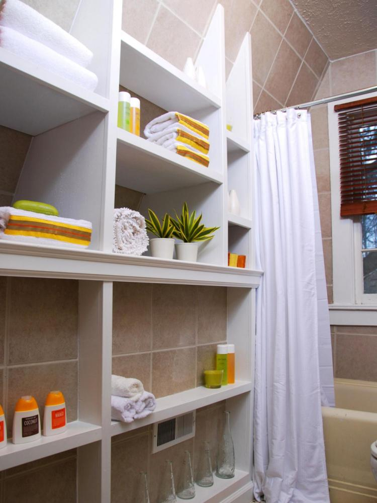 Small Bathroom Storage Ideas Houzz