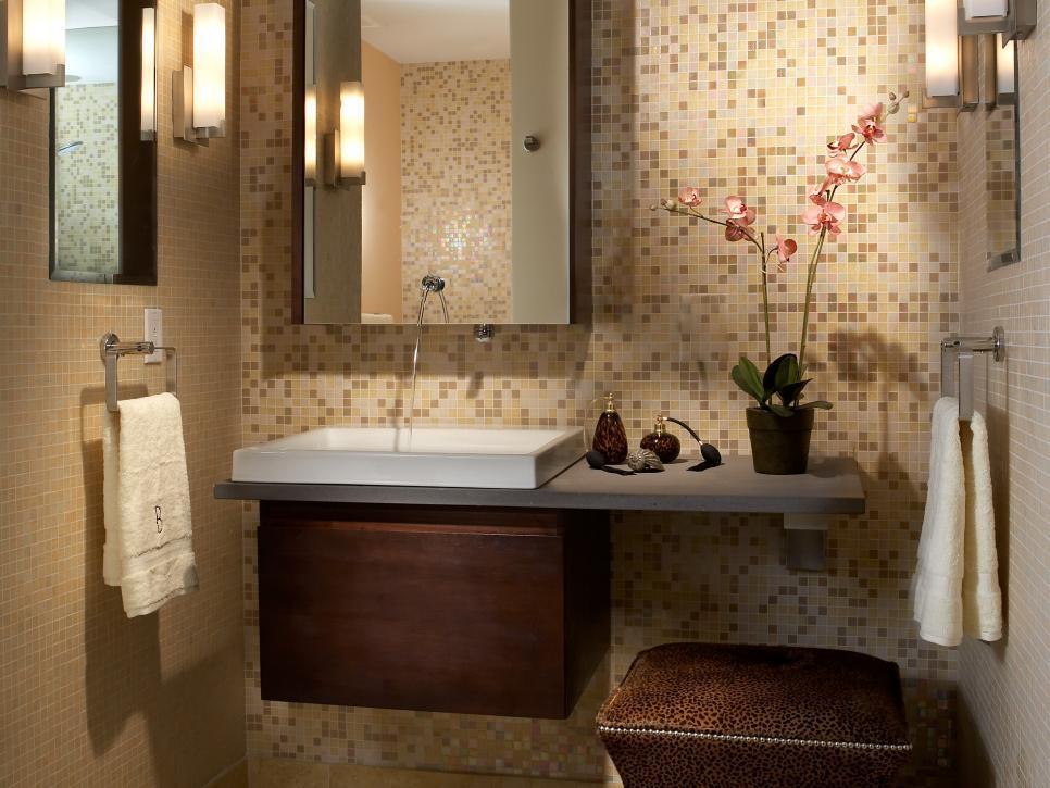 Small Bathroom Vanity Backsplash Ideas