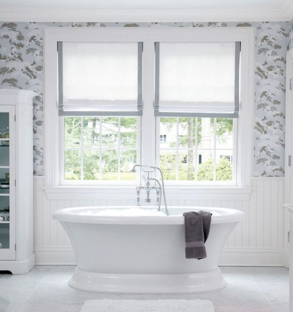 Small Bathroom Window Covering Ideas