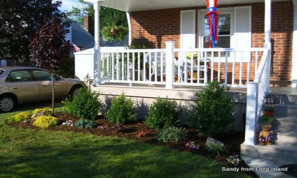 Small Front Porch Landscaping Ideas