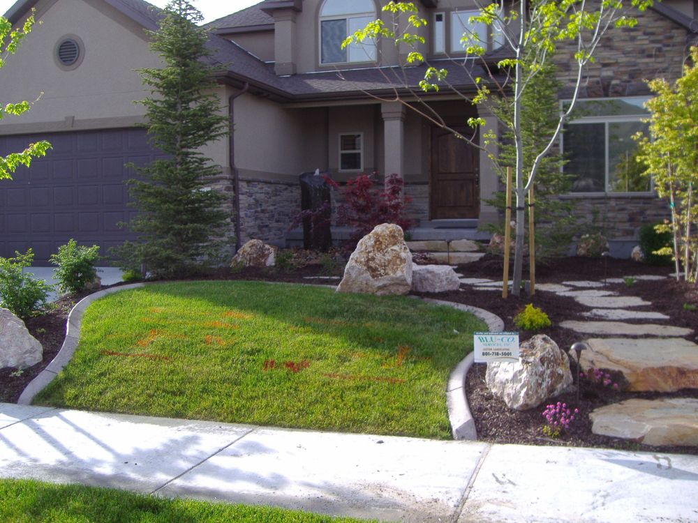 Small Front Yard Landscaping Ideas On A Budget