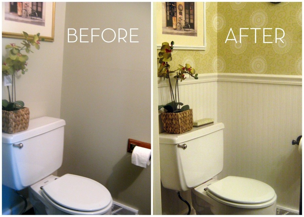 Small Half Bathroom Ideas On A Budget