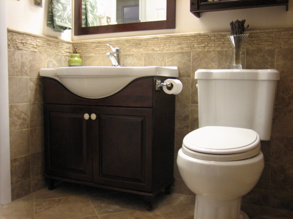 Small Half Bathroom Storage Ideas