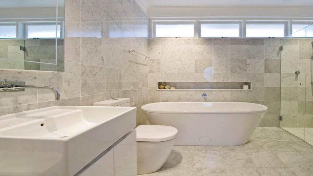 Small Marble Bathroom Ideas
