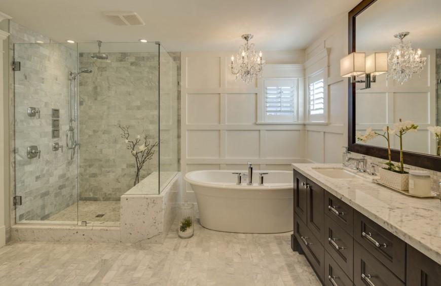 Small Master Bathroom Shower Ideas