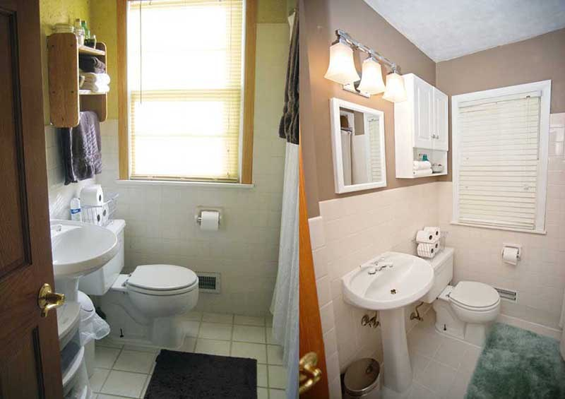 Small Mobile Home Bathroom Ideas