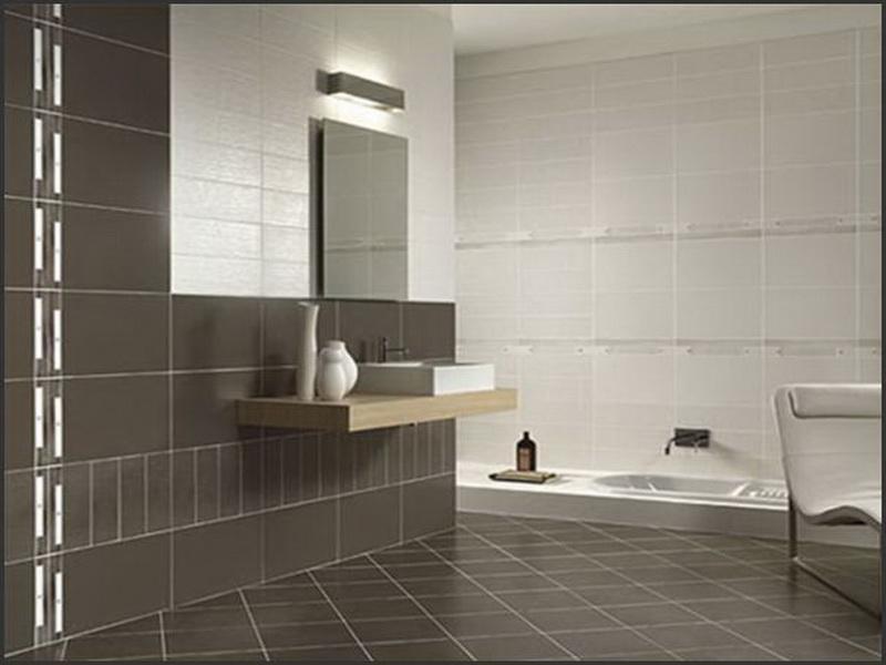Small Modern Bathroom Tile Ideas