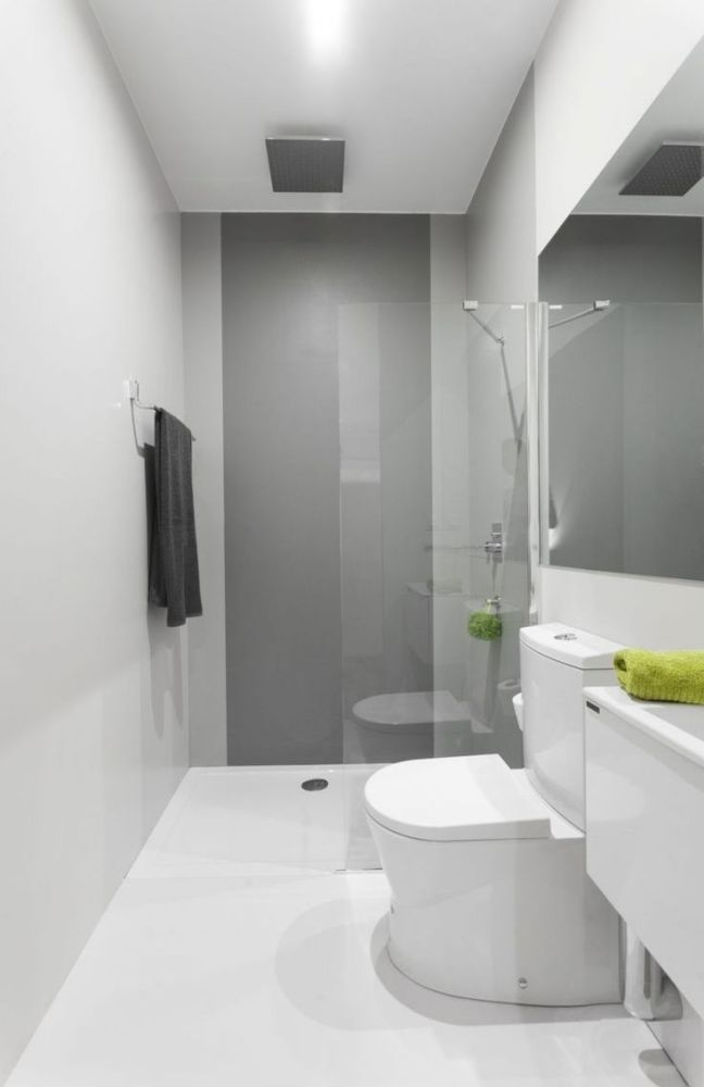 Small Narrow Bathroom Layout Ideas