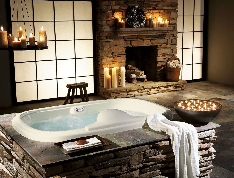 Small Romantic Bathroom Ideas