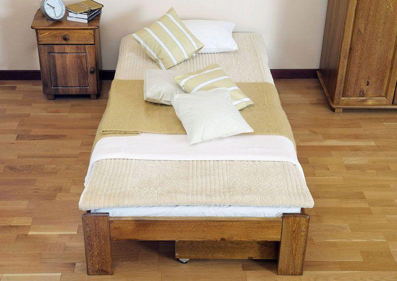 Solid Bed Frame No Slats