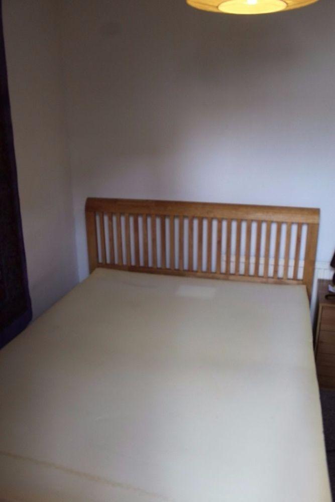 Solid Wood Bed Frame Super King Size